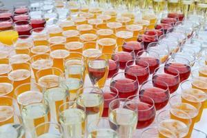 catering, bebidas foto