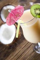 bebida exótica de alcohol
