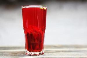 Homemade fruit drink
