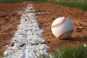Baseball on the Chalk Line photo