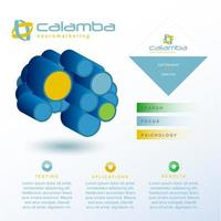 Neuromarketing modern infographic vector
