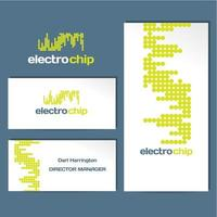 Electrochip Logo Business Card