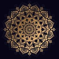 Luxury Golden Mandala Design