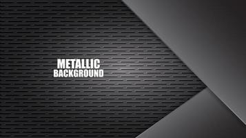 Aluminum Steel Plate Background with Texture vector