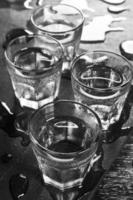 Transparent drink photo