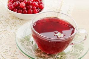 Fresh  drink cranberry