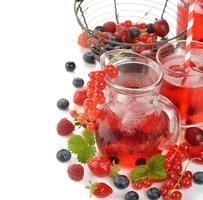 Refreshing berry drink