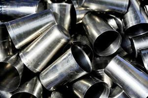 vasos de acero