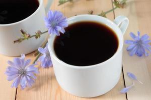 Drink with chicory roots photo