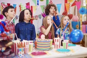 Huge noise at the kid's birthday party photo
