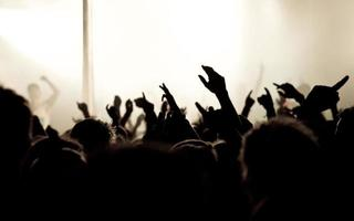 Concert crowd - Hands in the air