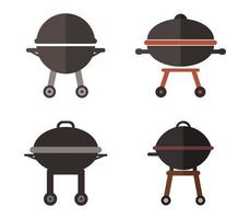 Barbecue Icon Set vector