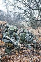 grupo de soldados jagdkommando foto