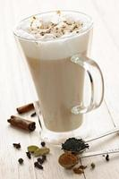 bebida chai latte