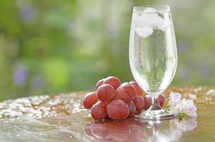 agua potable fresca