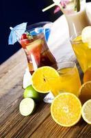 vers drankje met fruit