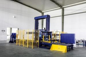 planta de producción de bebidas en china foto