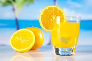 bebida cocktail de laranja