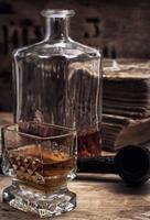 bebida alcoólica de uísque