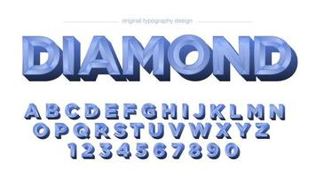 carreaux de diamant bleu alphabet vintage chrome