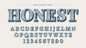 cromo plateado elegante alfabeto sans serif vector