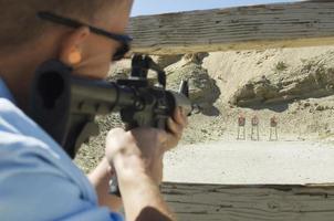 Friends at a firing Range photo