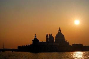 Santa Maria della Salute, Venecia, Italia foto