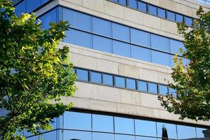 Facade of the Social Security of Ciudad Real, Spain. photo