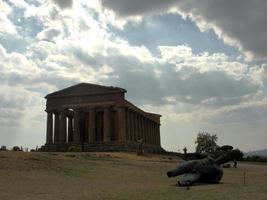Parthenon at Agrigento, Sicily