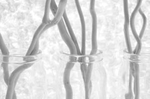 palos decorativos con fondo de texturas foto