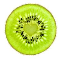 Heart of a Kiwi / Super Macro /  back lit