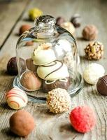 Luxury chocolate candies photo