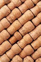 Champagne corks texture photo