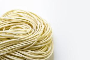 Uncooked Yellow Noodles photo