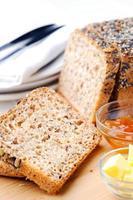 desayuno saludable y saludable foto