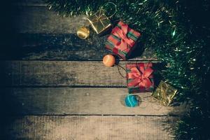 Christmas still life. photo