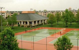 Wet Basketball Court photo
