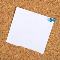 Blank Reminder Note as Copy Space photo