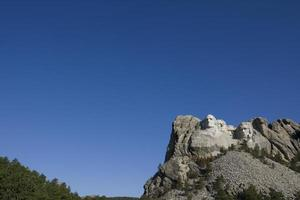 mount rushmore with copy space for writing