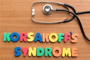 syndrome de korsakoff