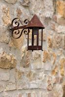 lámpara oxidada
