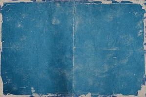 Blauer vintage Hintergrund