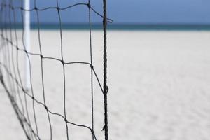 beach volleyball net photo