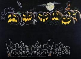 dibujo de halloween foto