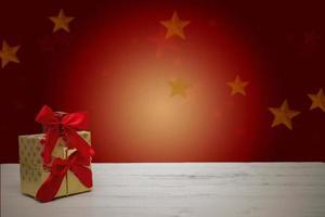 tarjeta de navidad festiva