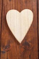 Heart of wood, copy space photo