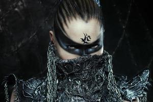 Warrior girl photo