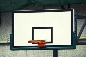 basketball hoop in vintage style picture