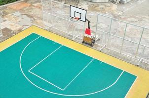 Basket ball court outdoor, street basketball photo