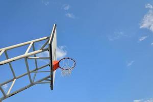 aro de baloncesto foto